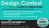Design Contest: Undergraduate and Graduate Research Symposium